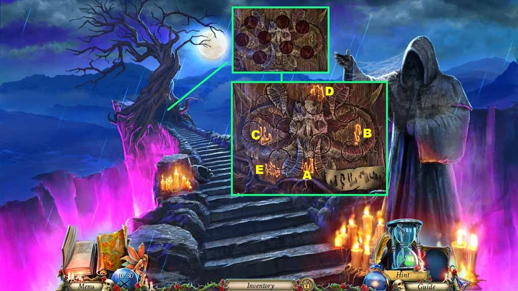 Grim Legends: The Forsaken Bride Walkthrough: Wood Relief Puzzle
