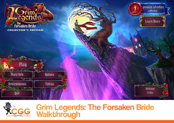 Grim Legends Walkthrough