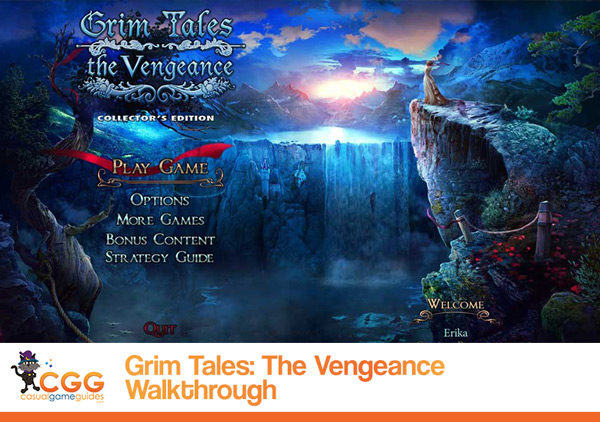 Grim Tales The Vengeance Walkthrough