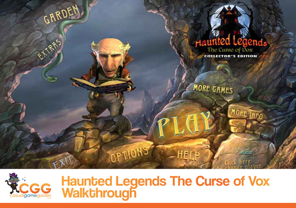 Haunted Legends Walkthrough