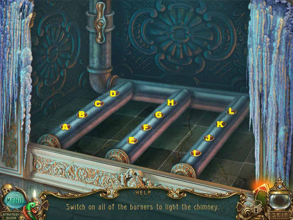 Haunted Legends: The Undertaker Walkthrough: Cubby Puzzle