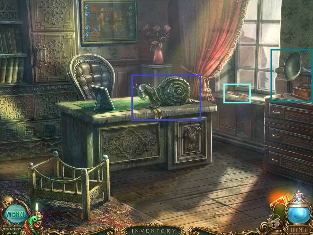 Haunted Legends: The Undertaker Walkthrough: Gramophone