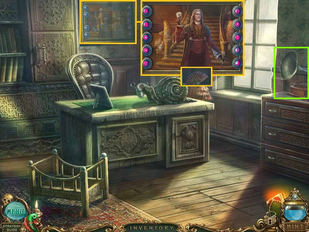 Haunted Legends: The Undertaker Walkthrough: Painting