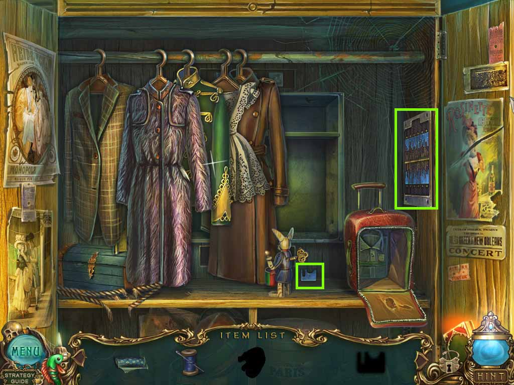 Haunted Legends: The Undertaker Walkthrough: Suitcase