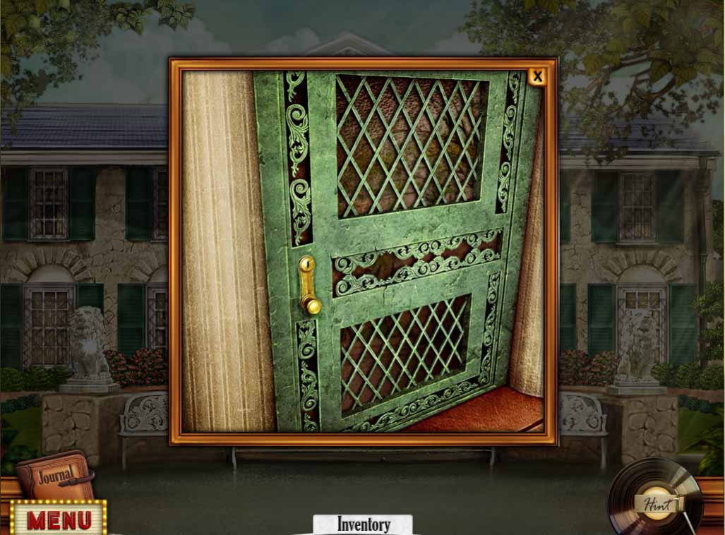 Hidden Mysteries: Gates of Graceland Walkthrough: Mansion