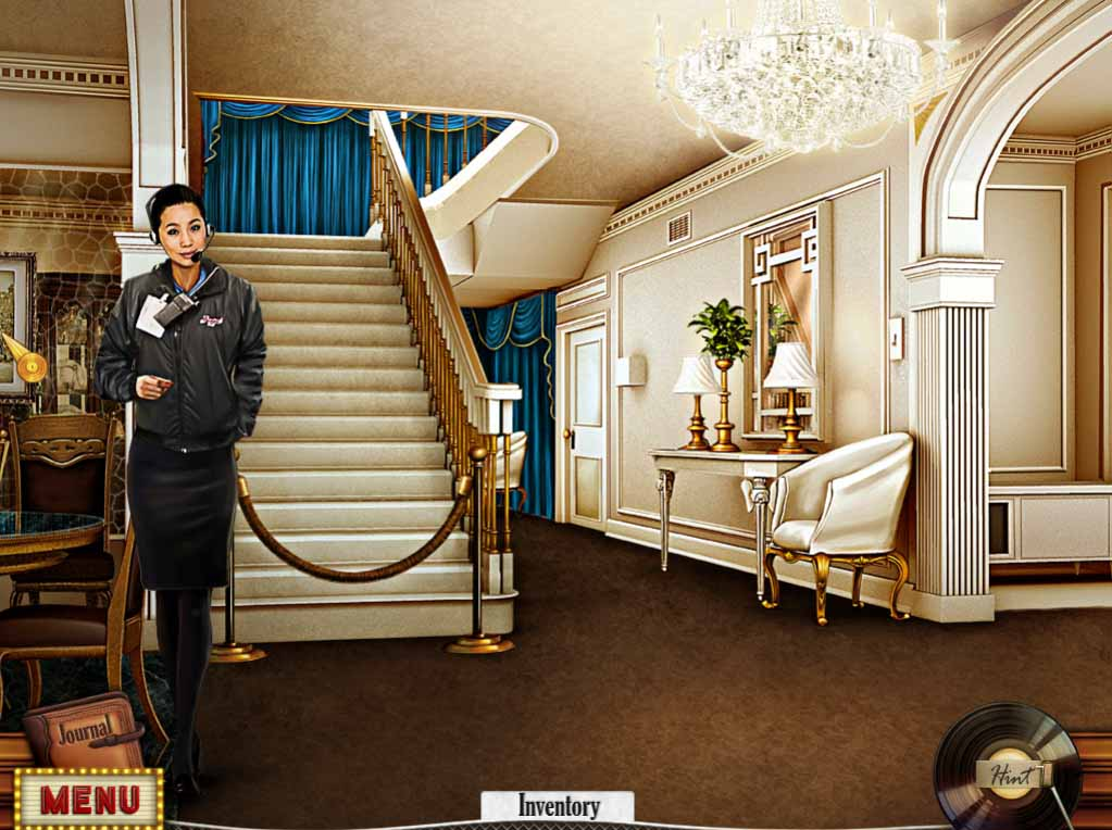 Hidden Mysteries: Gates of Graceland Walkthrough: Foyer