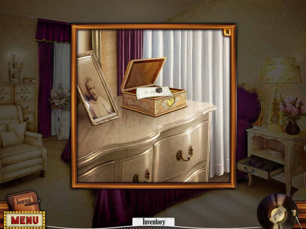 Hidden Mysteries: Gates of Graceland Walkthrough: Mothers Room