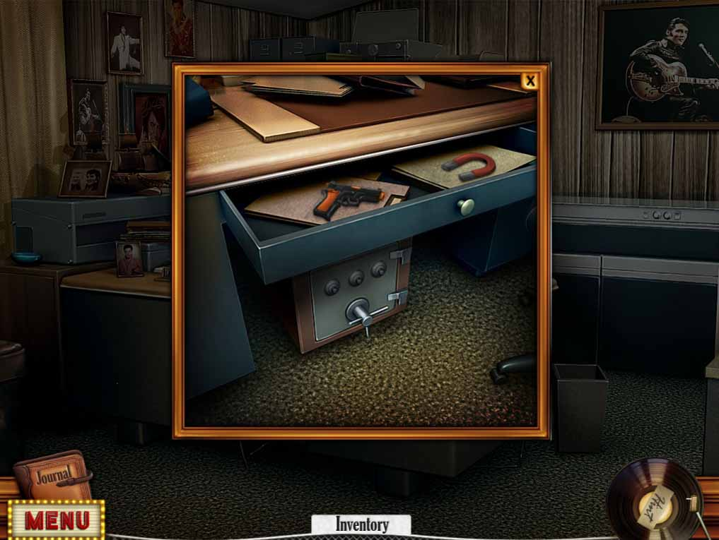 Hidden Mysteries: Gates of Graceland Walkthrough: Safe Puzzle
