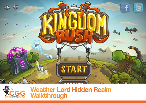 Kingdom Rush Walkthrough