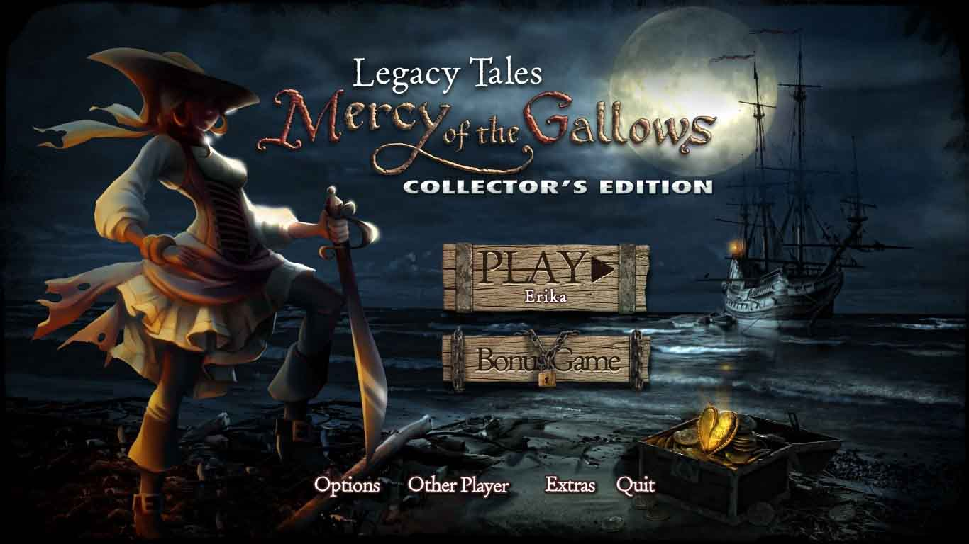 Legacy Tales: Mercy of the Gallows Walkthrough: Title Screen