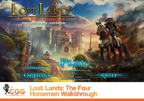 Lost Lands: The Four Horsemen Walkthrough