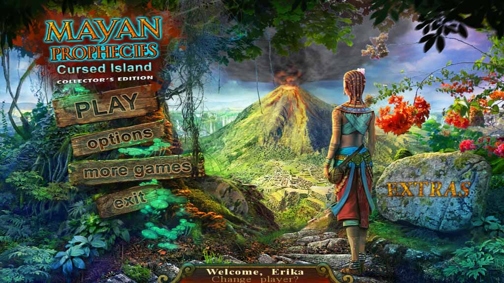 Mayan Prophecies: Cursed Island Walkthrough: Title Image