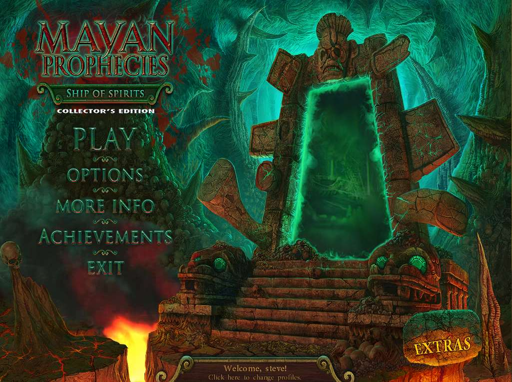 Mayan Prophecies Ship of Spirits Walkthrough Title Screen