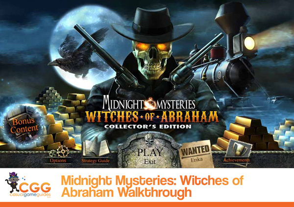 Midnight Mysteries Walkthrough