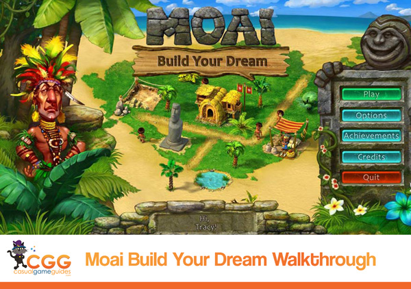 Moai Build Your Dream Walkthrough