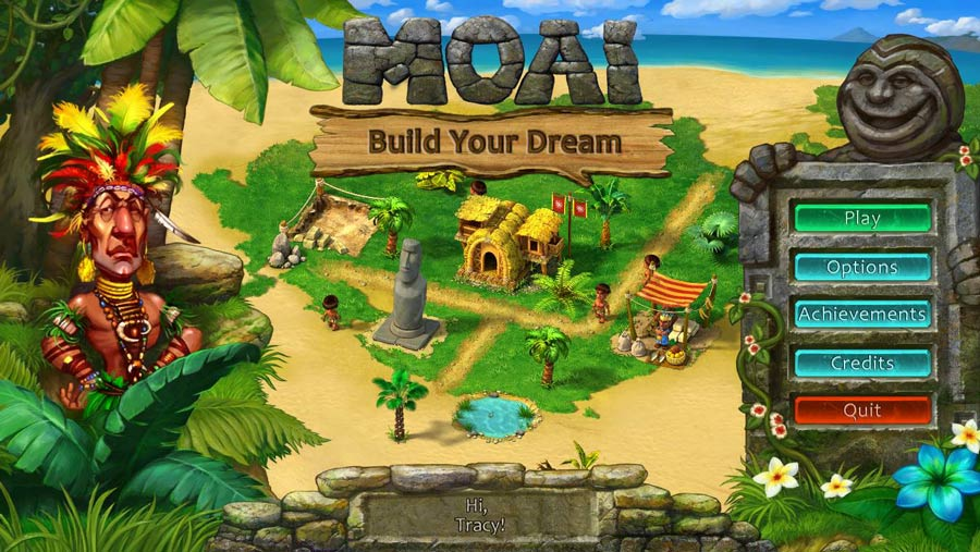 Moai: Build Your Dream Walkthrough: Title Screen