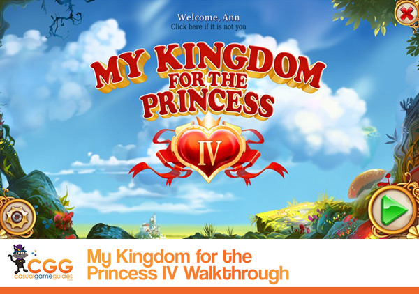 My Kingdom for the Princess Walkthrough