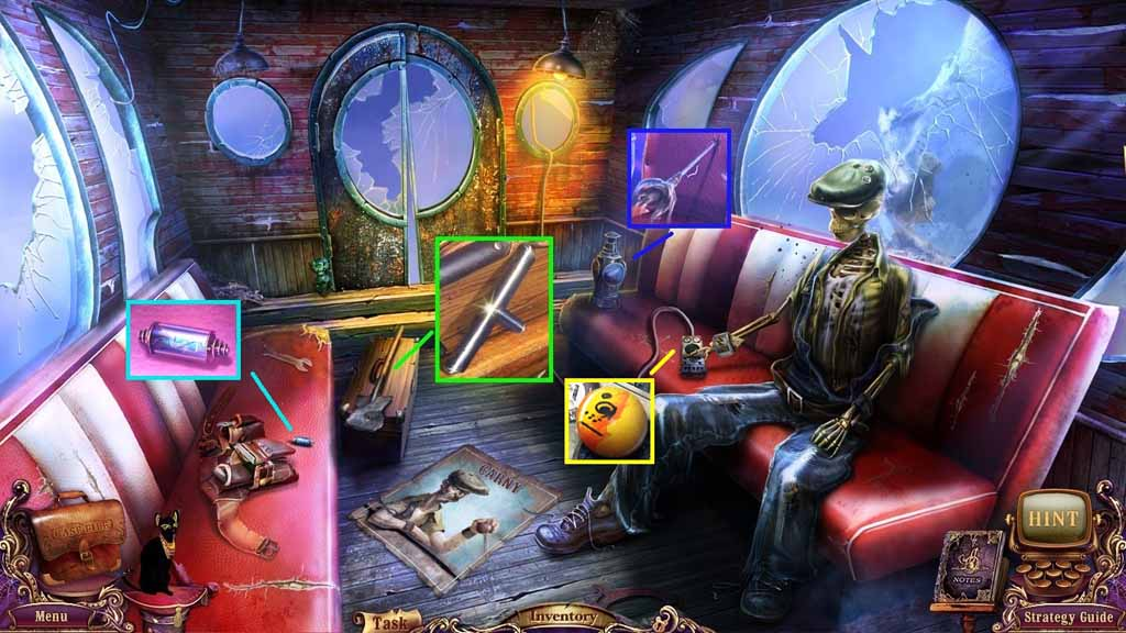 Mystery Case Files: Fate's Carnival Walkthrough: Carny