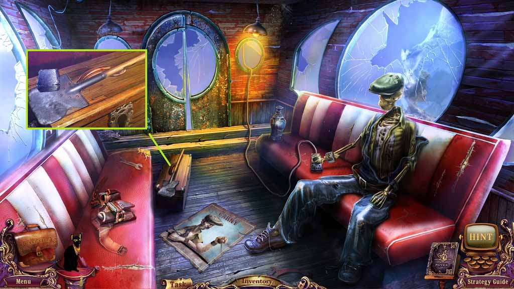 Mystery Case Files: Fate's Carnival Walkthrough: Stone