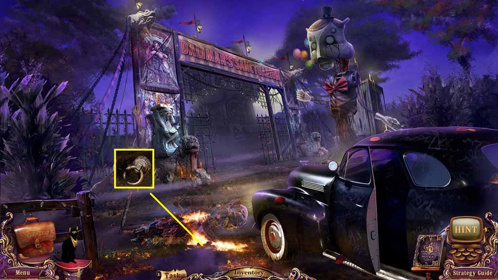 Mystery Case Files: Fate's Carnival Walkthrough: Spade