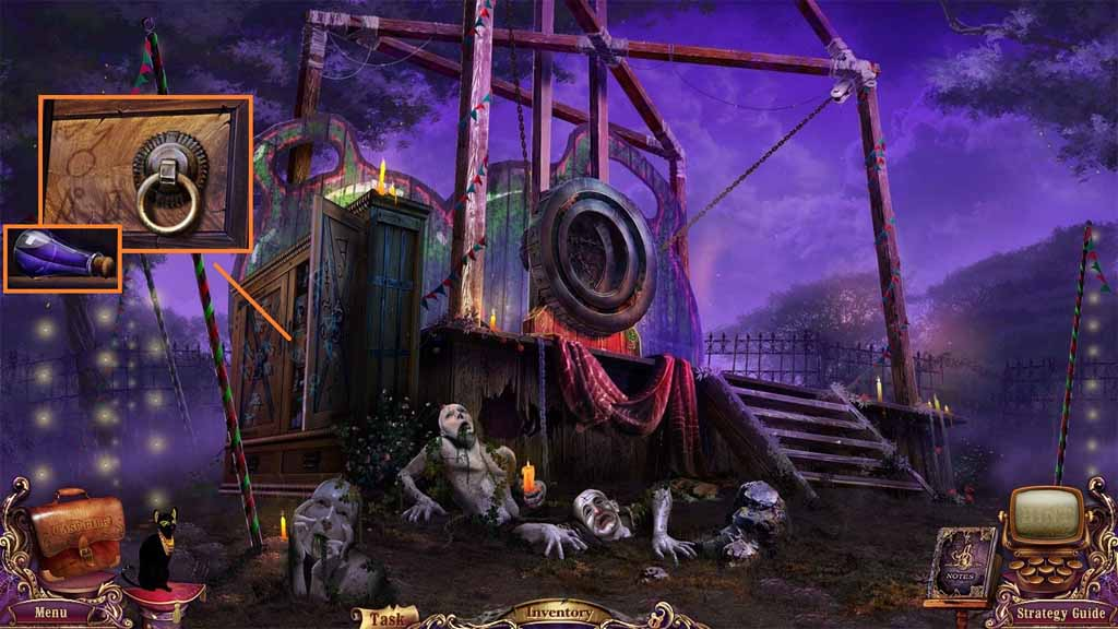 Mystery Case Files: Fate's Carnival Walkthrough: Bronze