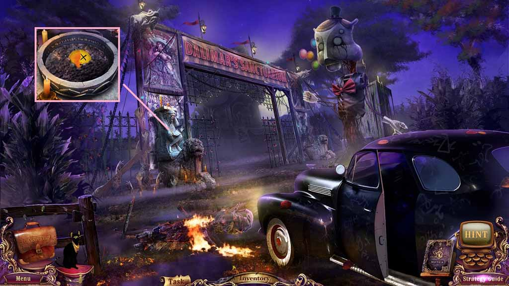 Mystery Case Files: Fate's Carnival Walkthrough: Violet