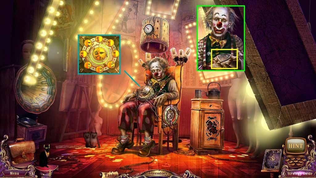Mystery Case Files: Fate's Carnival Walkthrough: Smiles