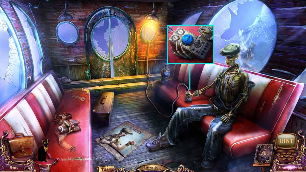 Mystery Case Files: Fate's Carnival Walkthrough: Control