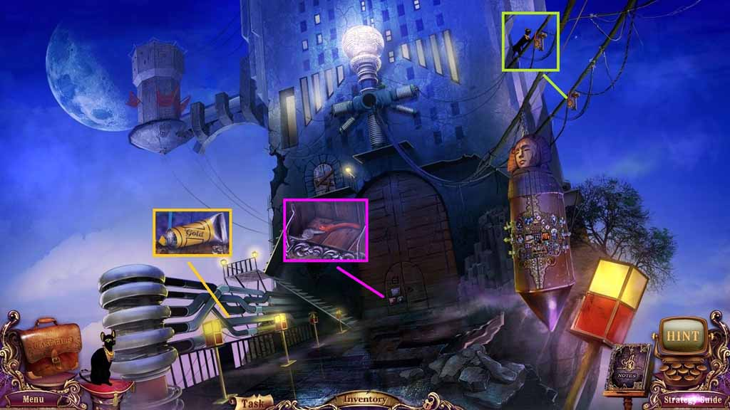Mystery Case Files: Fate's Carnival Walkthrough: Golden