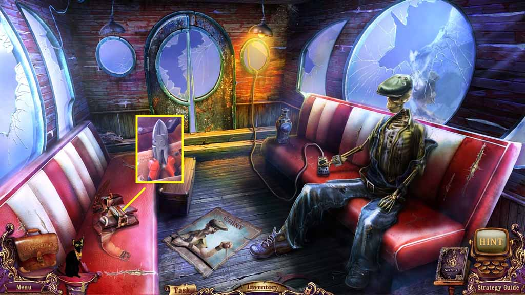 Mystery Case Files: Fate's Carnival Walkthrough: Cutter