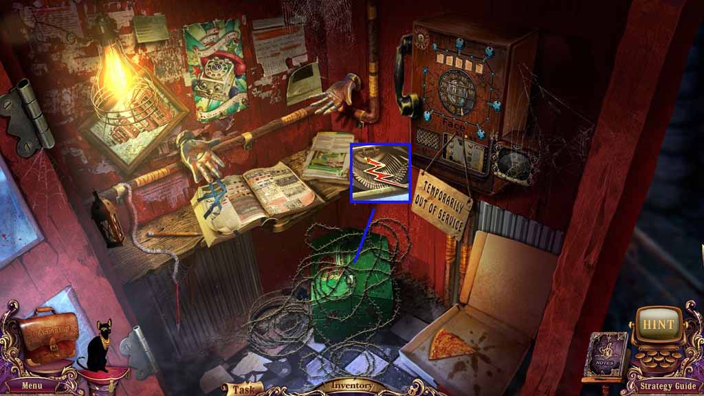 Mystery Case Files: Fate's Carnival Walkthrough: Wire