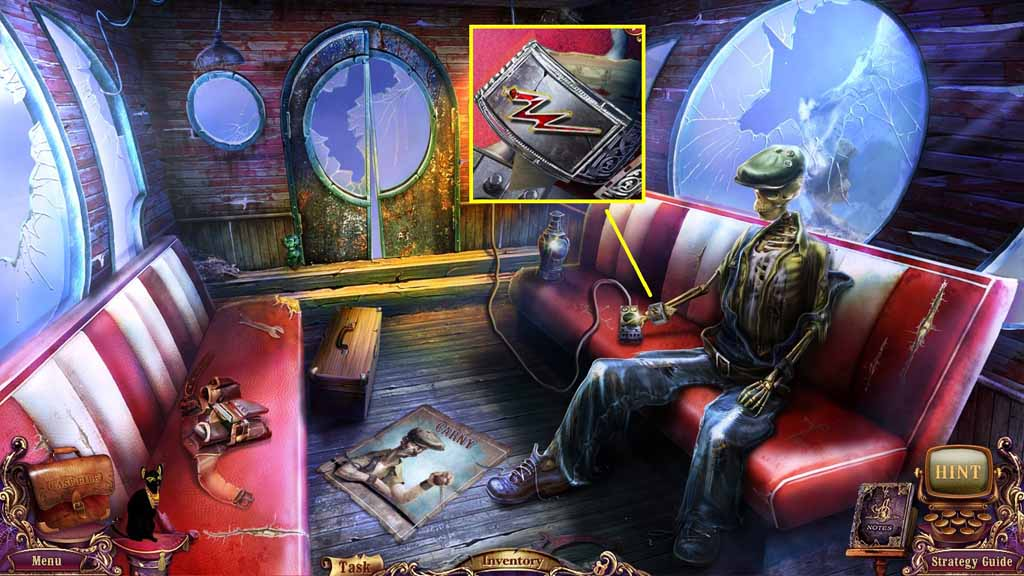 Mystery Case Files: Fate's Carnival Walkthrough: Lightning