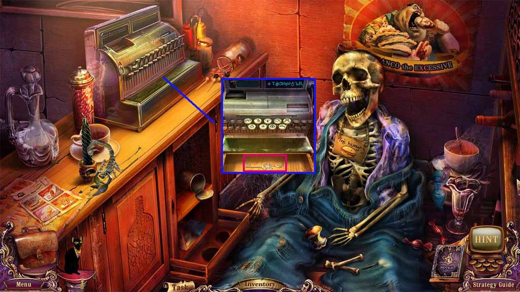 Mystery Case Files: Fate's Carnival Walkthrough: Notebook