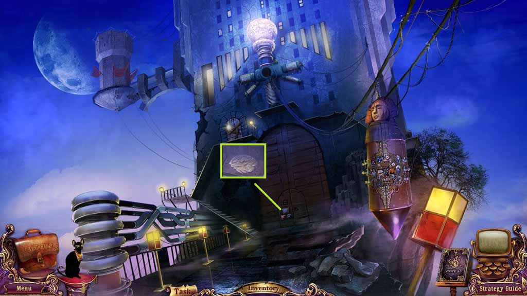 Mystery Case Files: Fate's Carnival Walkthrough: Key 2