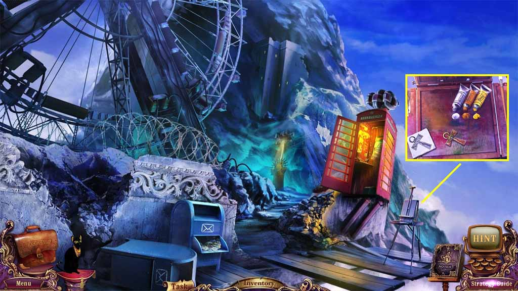 Mystery Case Files: Fate's Carnival Walkthrough: Paint