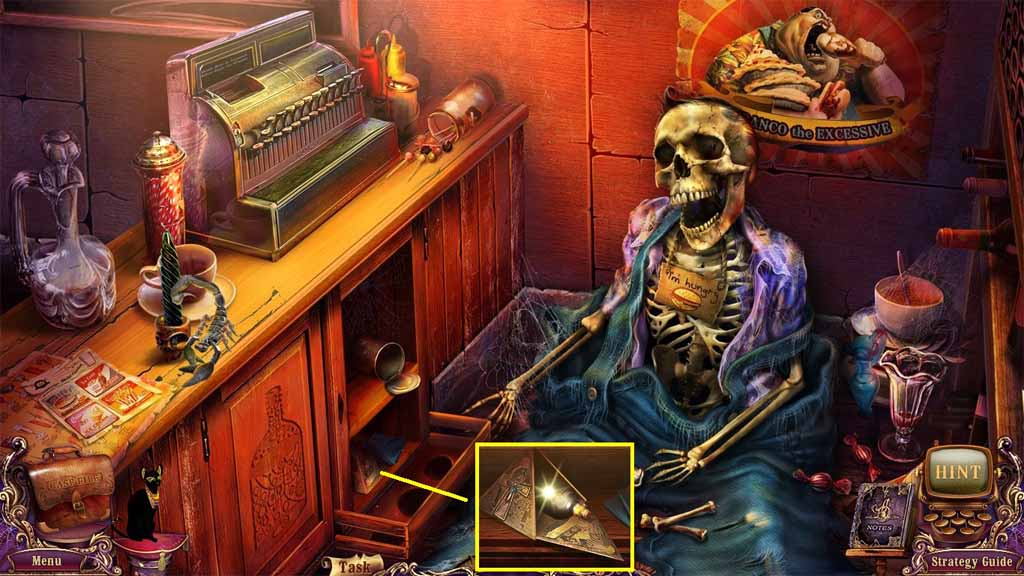 Mystery Case Files: Fate's Carnival Walkthrough: Ankh
