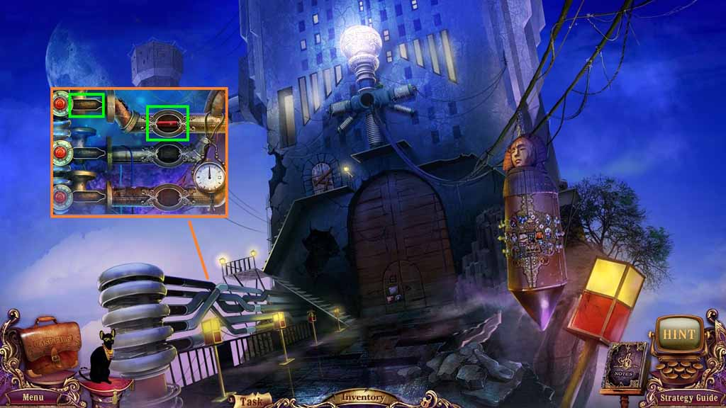 Mystery Case Files: Fate's Carnival Walkthrough: Cylinder