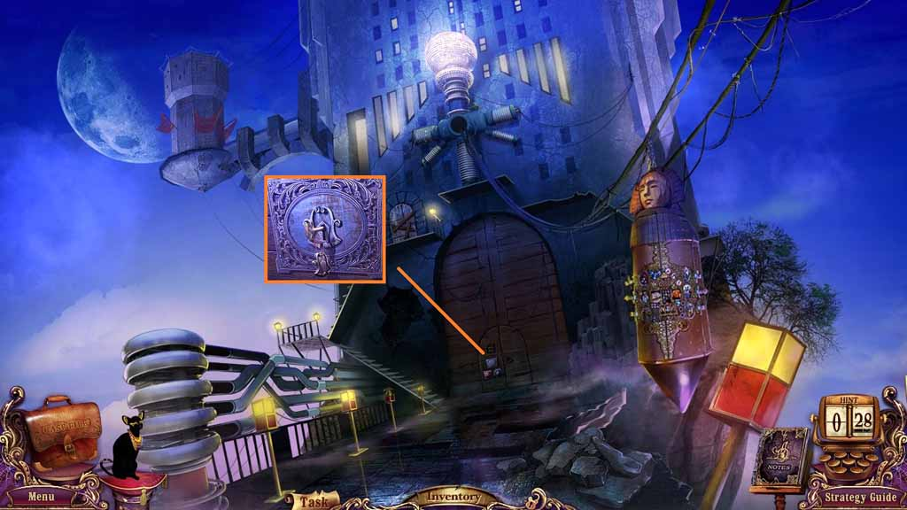 Mystery Case Files: Fate's Carnival Walkthrough: Key 3