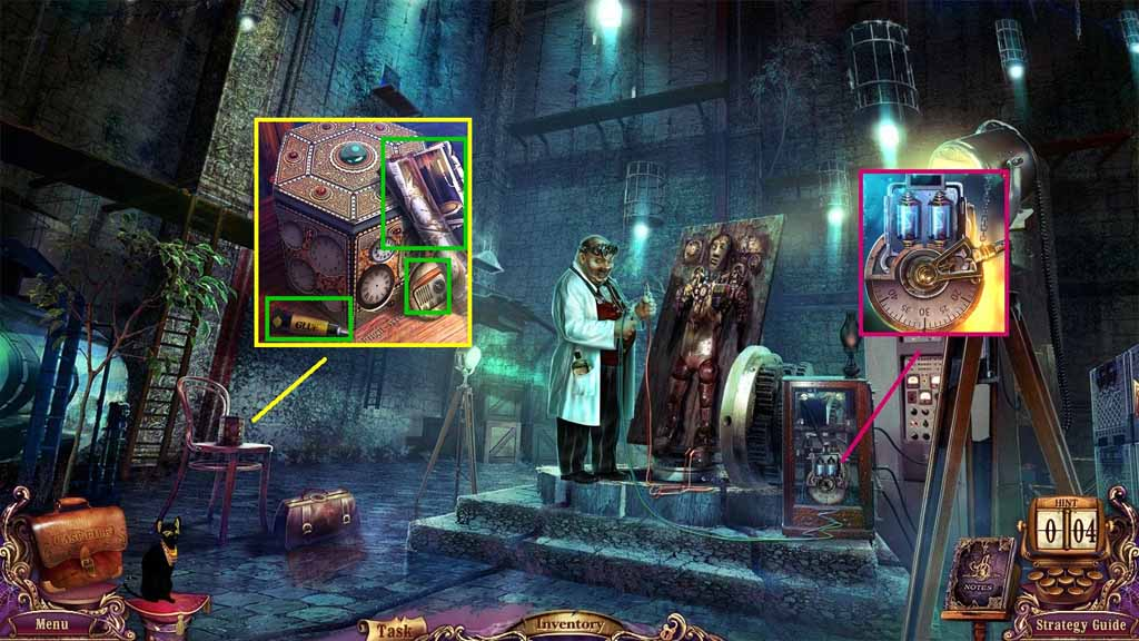 Mystery Case Files Fate's Carnival Walkthrough Chapter Twelve The Lab CasualGameGuides com