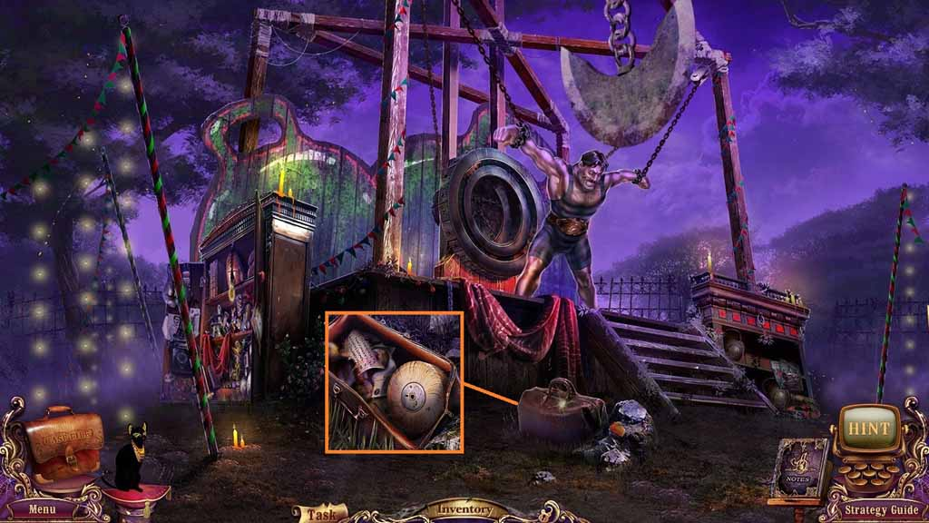 Mystery Case Files: Fate's Carnival Walkthrough: Slider