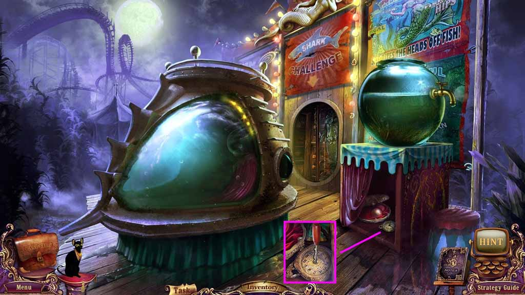 Mystery Case Files: Fate's Carnival Walkthrough: Screwdriver