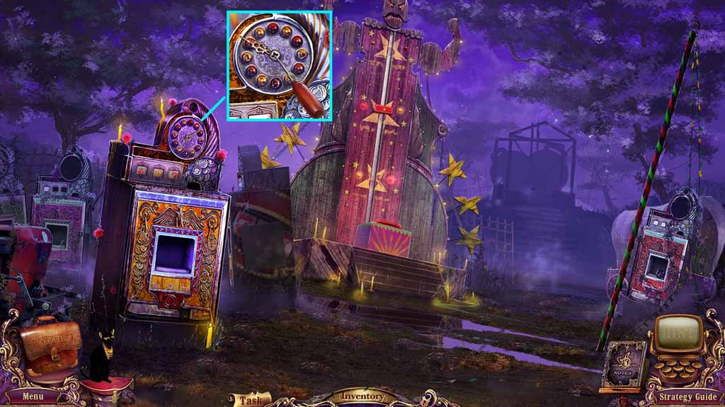 Mystery Case Files: Fate's Carnival Walkthrough: Hand