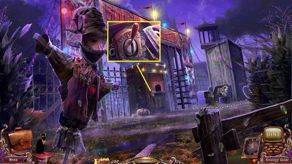 Mystery Case Files: Fate's Carnival Walkthrough: Toggle