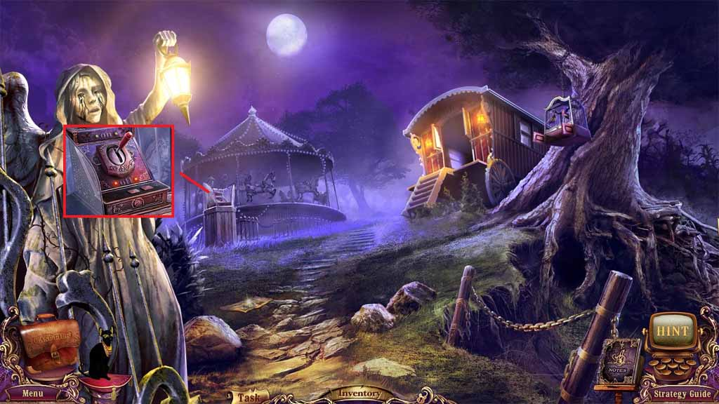Mystery Case Files: Fate's Carnival Walkthrough: Register