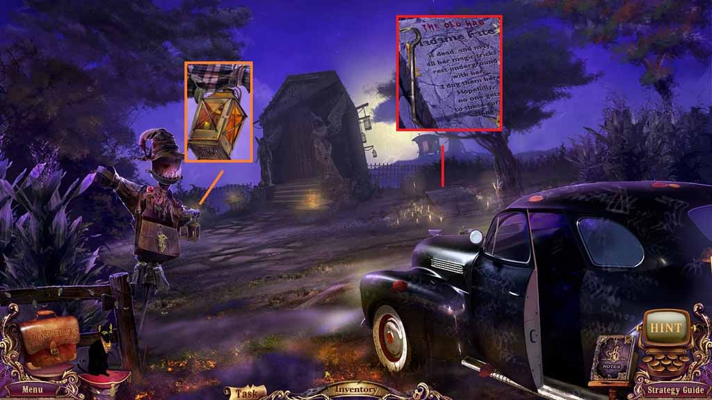 Mystery Case Files: Fate's Carnival Walkthrough: Lighter