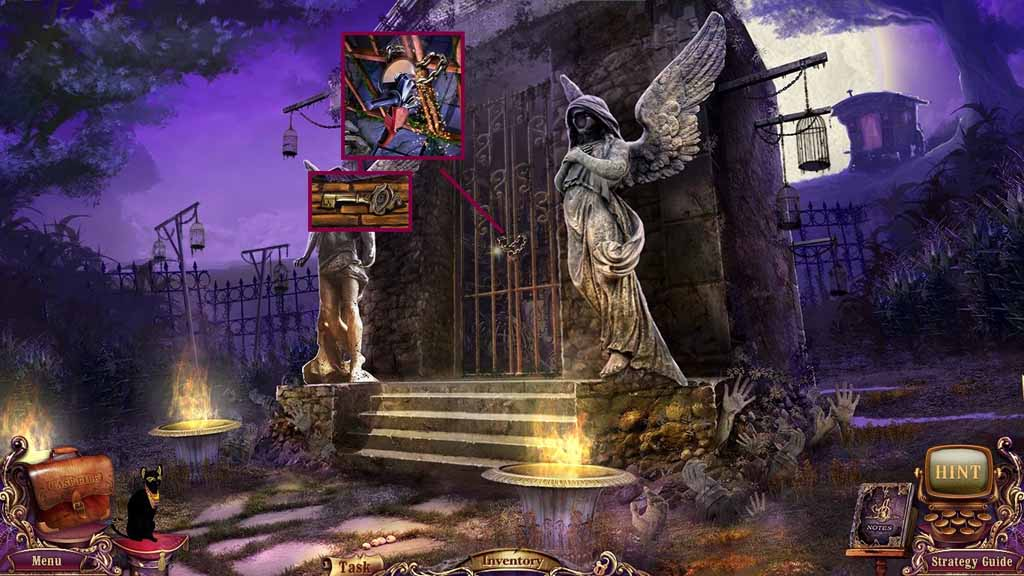 Mystery Case Files: Fate's Carnival Walkthrough: Saw