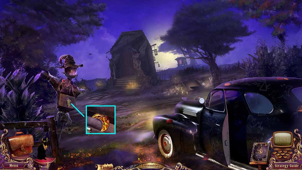 Mystery Case Files: Fate's Carnival Walkthrough: Rusty
