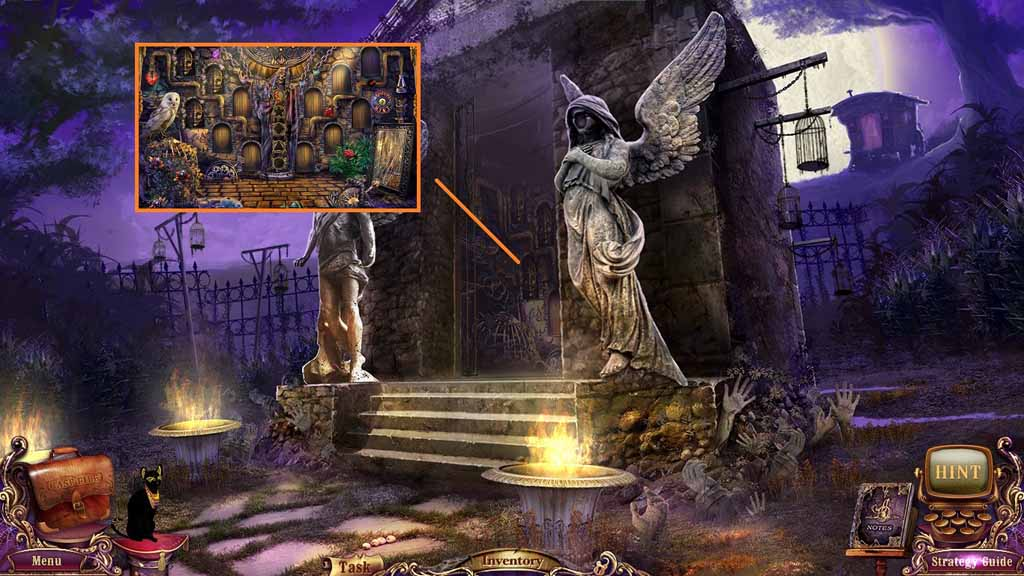 Mystery Case Files: Fate's Carnival Walkthrough: Crystal
