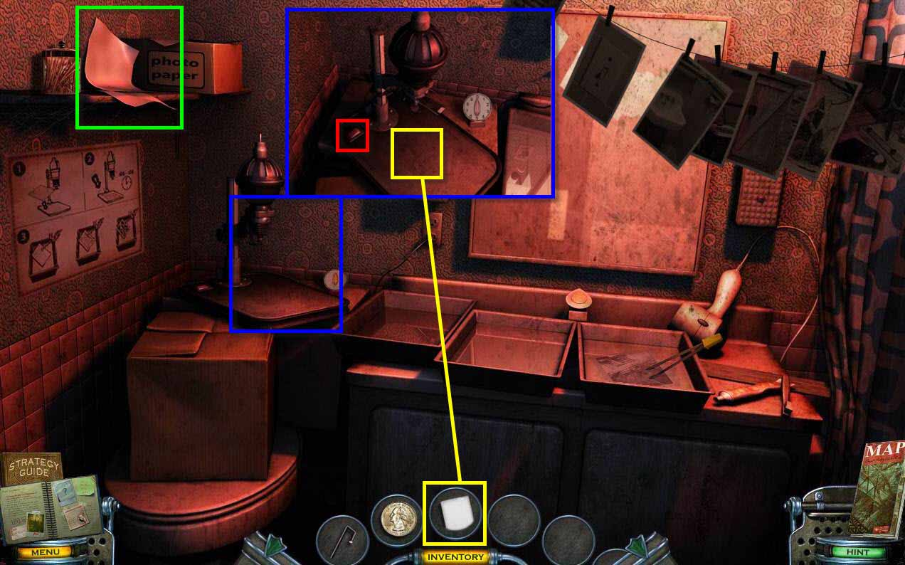 Mystery Case Files: Shadow Lake Walkthrough: Photo Paper
