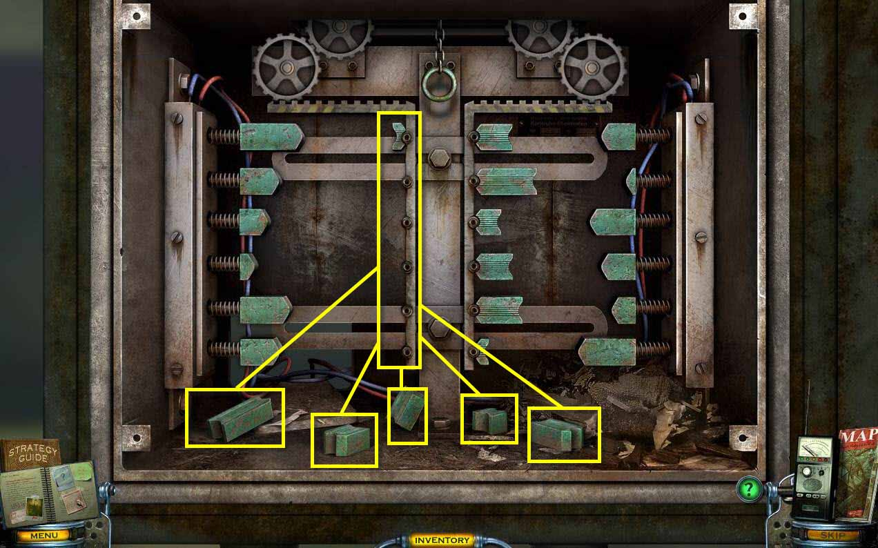 Mystery Case Files: Shadow Lake Walkthrough: Door Puzzle 1
